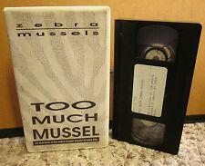 ZEBRA MUSSELS impact documentary VHS Lake Erie mollusca marine biology video