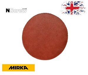 Sanding Discs 7'' Mirka Sandpaper 180mm 40-600 Orbital Pads Hook and Loop