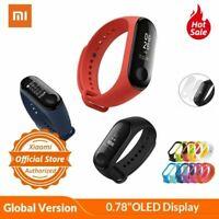 "Global Version Xiaomi Mi Band 3 Xiomi Miband 3 Smart Bracelet 0.78"" OLED"