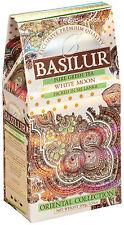 Basilur Tea-WHITE MOON-Latte Oolong Tè VERDE-confezione da 100g (x2 Pack)