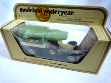 MATCHBOX Y-13 1918 CROSSLEY / CARLSBERG / MODELS OF YESTERYEAR /  MINT IN BOX