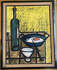 """Bernard Buffet """"The Breakfast"""" Number 6 Of 80 1955 Print Art Work Picture"""