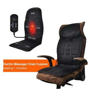 Electric Heating Full Body Massage Chair Car Massage Chair Portable With Remote