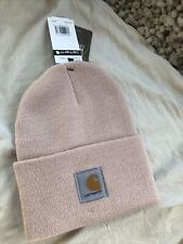 QUICK  SHIPPING! Rose Smoke Pink Carhartt Beanie Hat Cap . New With Tags .