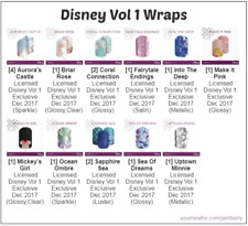 Jamberry Retired Disney Licensed Nail Wraps. ~Full Sheets~ Free Shipping!