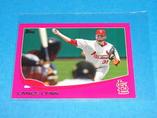 2013 Topps LANCE LYNN #507 Pink Mini SP/25 St Louis CARDINALS - Ole Miss REBELS