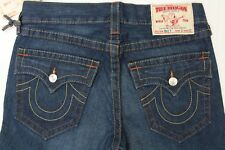 True Religion Billy Lonestar Men's Jeans Dark Wash Straight Leg Size 31 x 33