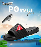 2019 Mens Summer Sandals shoes Casual Non-Slip Slippers Beach Pool Shower Shoes