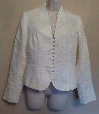 Phase Eight UK10 EU38 US6 cream long-sleeved lined special occasion jacket