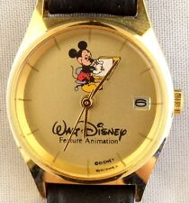 NEW DISNEY FEATURE ANIMATION LADIES MICKEY MOUSE CAST LIMITED EDITION WATCH