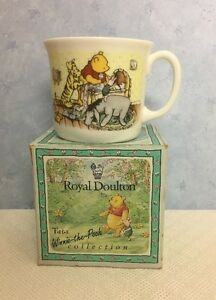 Royal Doulton Disney Winnie the Pooh Mug Christening Collection with Box