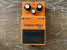 Boss DS-1, Distortion, Made In Japan,1984, Vintage Guitar Effect Pedal