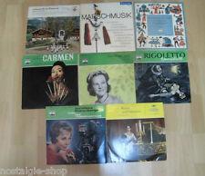 Konvolut Klassik LPs 8 Stück Oper Operette Volksmusik Musik music