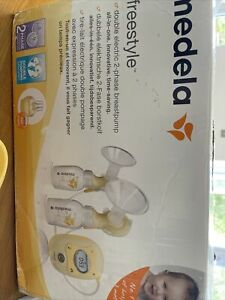 Medela Freestyle Double Electric Breast Milk Pump + Loads Of Extras