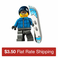 8805 LEGO Collectible Minifigures Series 5 | Snowboarder Guy | Used