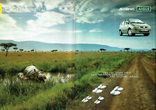 Publicité Advertising 088   2002   Renault   le Scénic Aigle ( 2 pages)