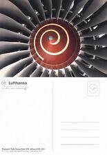(05718) Postcard Lufthansa Rolls Royce Trent 500 unused