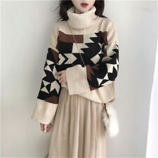 151 Korean Women's Fashion Pullover Sweater Top Long Sleeve