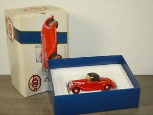 1939 Triumph Dolomite - Dinky DY Matchbox DY-17 - 1:43 in Box *52772