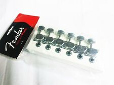 NEW Genuine Fender 70's F-Style Tuners - CHROME 099-0822-100