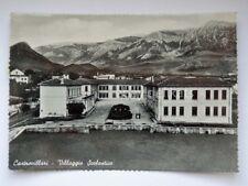 CASTROVILLARI villaggio scolastico Cosenza vecchia cartolina