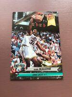 1992-93 Fleer Ultra Dunk Rank: #17 Karl Malone - Utah Jazz