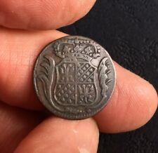 Netherlands (Groningen & Ommelanden) 1770 One Duit.   (Ref: O)