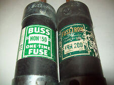 Cooper Bussman New BUSS NON-150 Fuse and FRN 200 New
