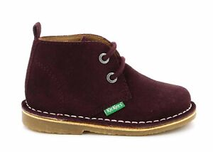 Kickers Boy Infant Winter Casual Tano Boots Fashion School Suede 736250-10-14