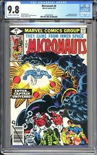 CGC 9.8 MICRONAUTS #8 1ST CAPTAIN UNIVERSE Venom Knull God of Light TV show soon