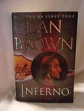 INFERNO BY DAN BROWN 2013 FIRST EDITION HC/DJ