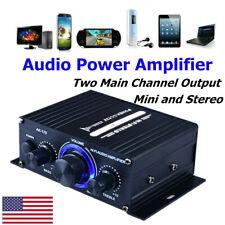 400W Potencia Amplificador Digital Usb Mini Estéreo Audio Amp high-fidelity Fm Micrófono para Auto Hogar de Estados Unidos