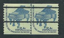 Scott # 1615C...8.4 Cent...Piano...Joint Line Pair (Pre-cancel)