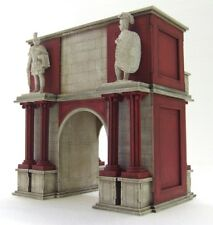 ROMAN TRIUMPHAL ARCH (Gangs of Rome) - 28mm  - ASSEMBLED MDF & HIGHLY PAINTED