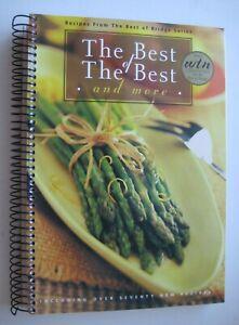 The Best Of The Best of Bridge Cookbook Spiral Bound