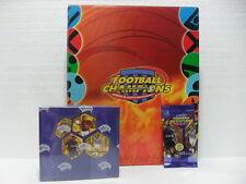FOOTBALL CHAMPIONS Raccoglitore ufficiale + 1 BOX 36 buste 7 carte anno 2003/04