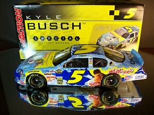 Kyle Busch #5 Kellogg's Ice Age 2 The Meltdown Movie 2006 Chevrolet Monte Carlo