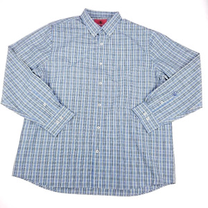 Southern Proper Mens Oxford Shirt Plaid Henning Long Sleeve Tailored Fit 2XL NEW