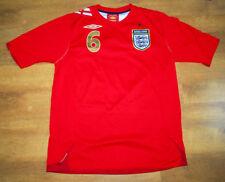 Umbro England 2006/2008 'Terry' #6 away shirt (Size M)