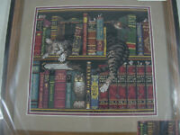 Dimensions Frederick the Literate Cat Library Charles Wysocki Kit UNOPENED 35048