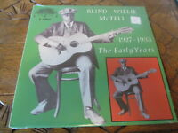 BLIND WILLIE MCTELL Early Years LP YAZOO sealed vinyl record blues reissue
