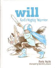 Bearded Collie Beardie Children's book: Will - God's Mighty Warrior