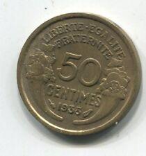 50 CENTIMES  MORLON CUPRO ALU 1938