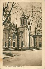 A View of the First Baptist Church, Owego Ny 1924
