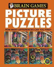 Brain Games Picture Puzzles: How Many Differences Can You Find? No. 5 Editors of
