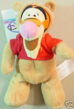 "Disney DS US ""TIGGER as POOH"" BEAR Bean Bag Toy 8"" MWMT"