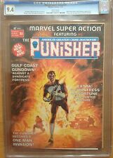 MARVEL SUPER ACTION #1 CGC 9.4 EARLY PUNISHER APPEARANCE ACTION PACKED COVER