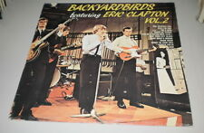 YARDBIRDS - BACKYARDBIRDS feat. ERIC CLAPTON VOL.2 - RARE ORIZZONTE LP - ITALY -