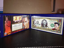 ELVIS PRESLEY Legal Tender USA $2 Dollar Bill WITH LASER AUTO ! Certified