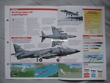 Aircraft of the World Card 43 , Group 5 - British Aerospace Sea Harrier FRS.Mk 1